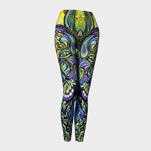 Shroomgasm Sherpa Art on Purpose Leggings