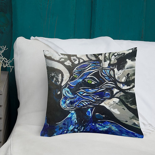 Big Blue Freedoms Double sided Pillow