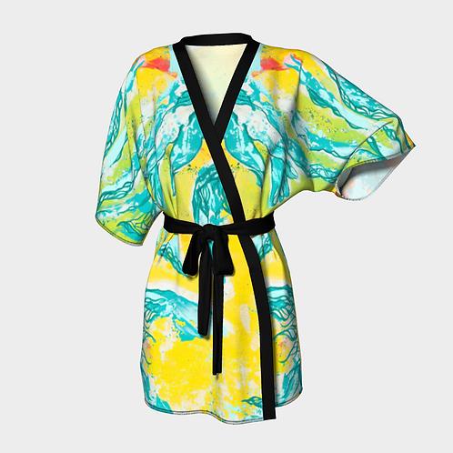 In Her Radiant Glory Kimono Robe