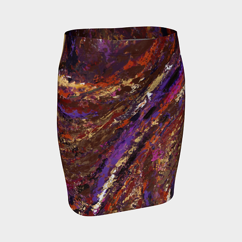 Universal Truth Fitted Skirt