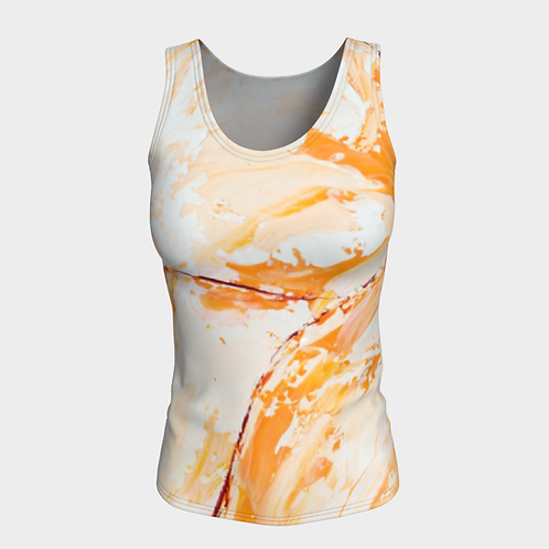 Orange Blossom Fitted Tank