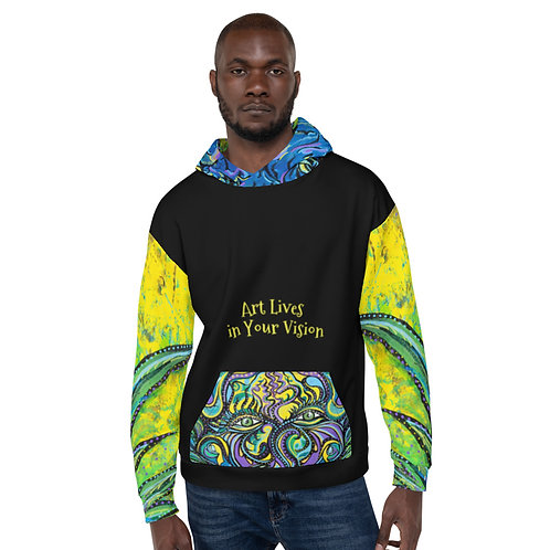Sherpa Art Lives in Your Vision hoodie