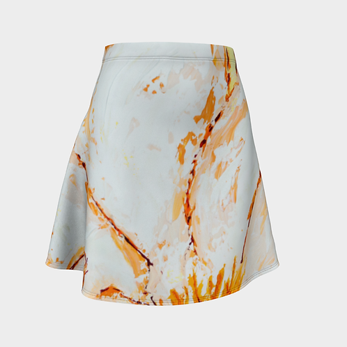 Orange Blossom Flared Skirt
