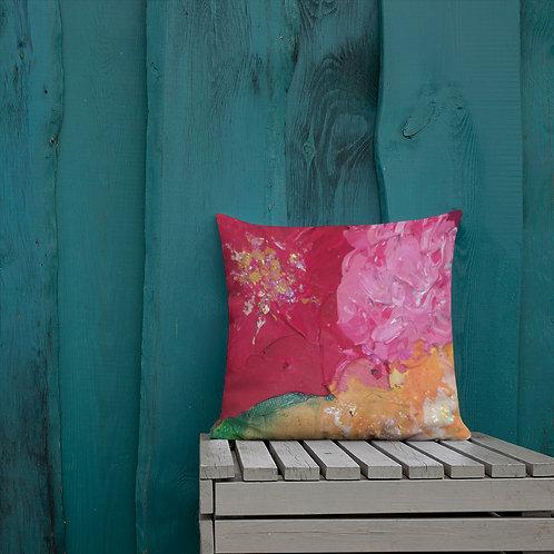 Profunda Floral Pillow