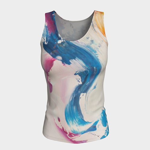Visionary Blues Fitted Tank