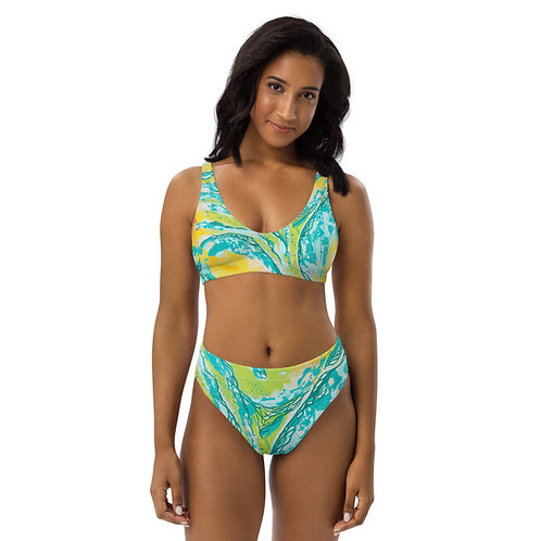 Radiant Glory high-waisted bikini