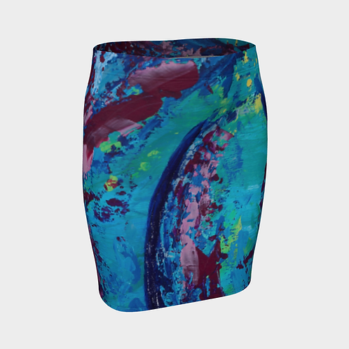 Reveal Your Curves Fitted Skirt