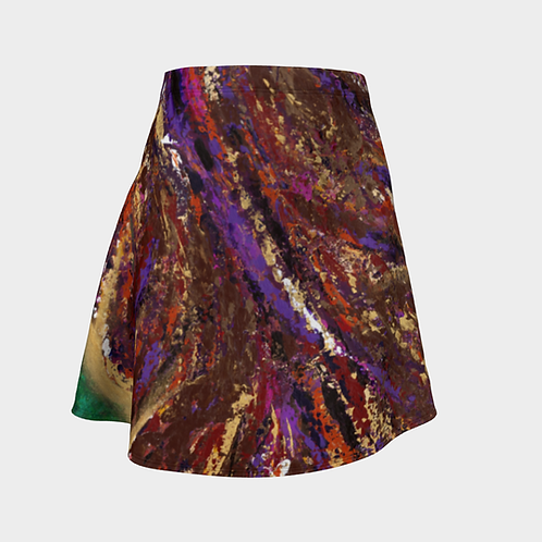 Universal Truth Flared Skirt