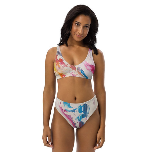 Visionary Colors Recycled high-waisted bikini copy
