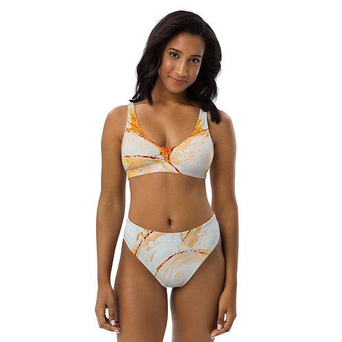 Experiential Bloom high-waisted bikini