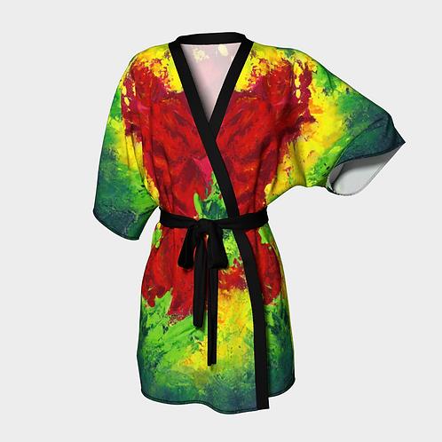 Infrared Kimono Robe