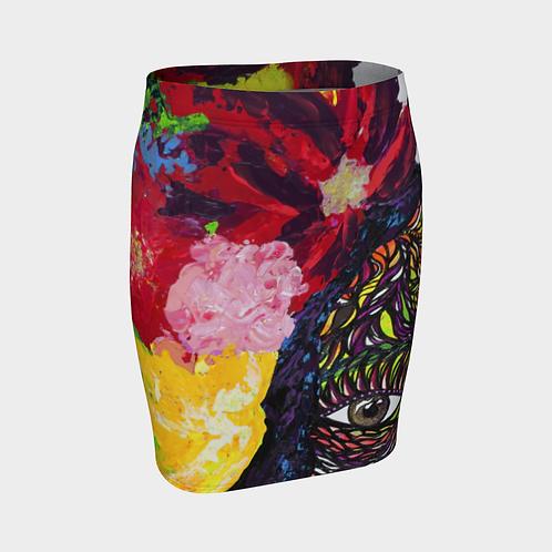 Profunda Selva Fitted Skirt