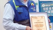 AES Andes SBU Premió a un Trabajador Altimec por su Compromiso con la Seguridad