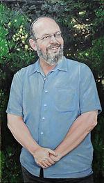 Portrait of Martin Fellner, painting