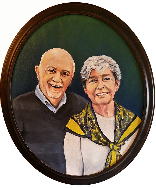Portrait of Lus and Vivian Schuchinski