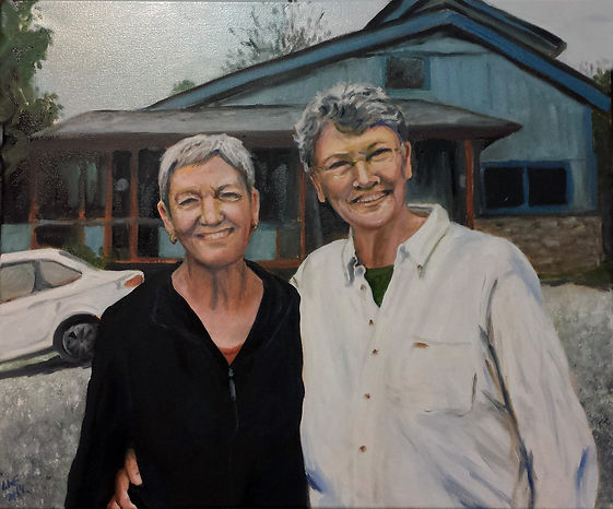 Portrait of Karen Carey and Jane