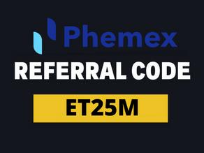 Phemex Invitation Code : ET25M (2021) and claim up to 80 USD