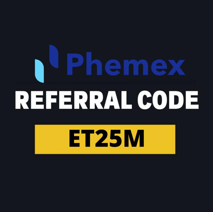 phemex referral code