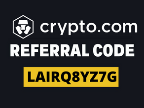 """Crypto.com Referral Code: """"LAIRQ8YZ7G"""" $100 Welcome Offer And $25 Referral Bonuses"""
