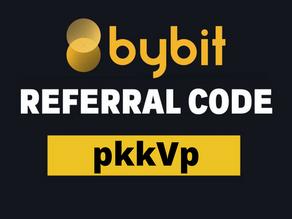 ByBit Referral Code : pkkVp ($2610 Free Bitcoin Deposit Bonus)