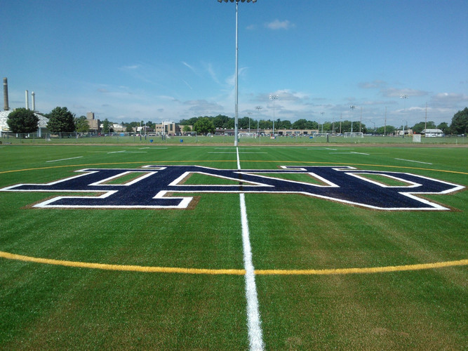 University of Notre Dame Athletic Fields