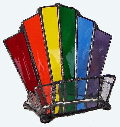 Rainbow Business Card Holder