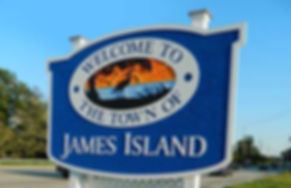 James Island town sign