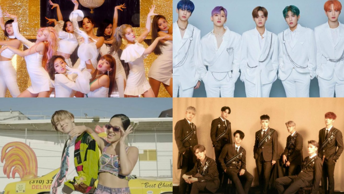 Most Covered K-Pop Songs in October