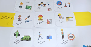 Make your own Community Helpers book