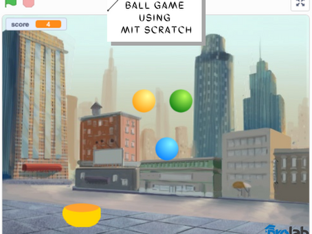 Create a ball game using Scratch