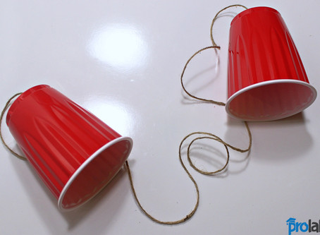 Make your 1st String Telephone