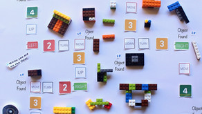 Coding Project with Roomba & Lego Maze