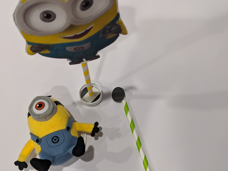 Dancing Minion on a Magnet