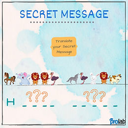 Secret Message Using Icons
