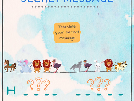 Secret Message Using Icons