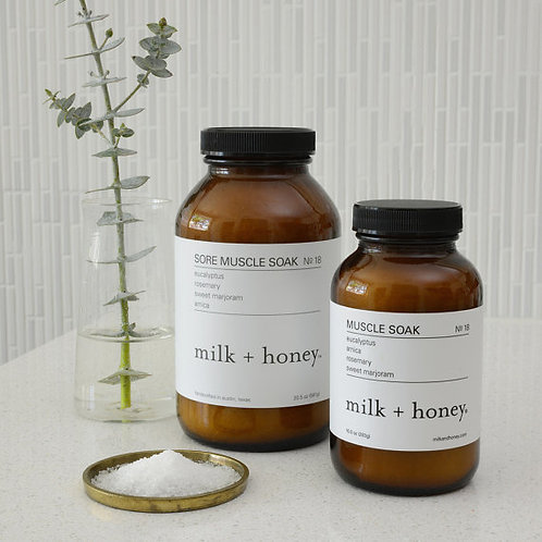 Milk + Honey Muscle Soak