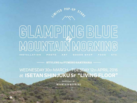 GOLDCRAFT with MOUNTAIN MORNING @ 新宿伊勢丹5F