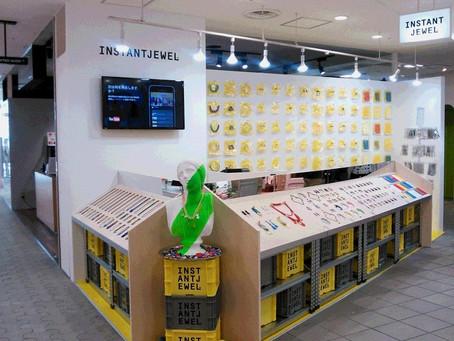 ラフォーレ原宿1FにINSTANTJEWELの直営店が期間限定オープンしました。