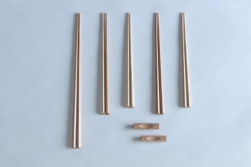 五角箸・三角箸