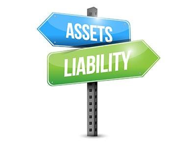 assets liabilities estate