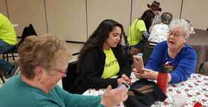 Youth Teaching Technology to Seniors