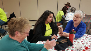 Youth Teaching Technology to Seniors