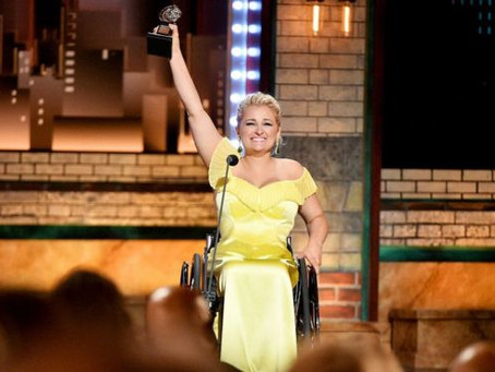 First Wheelchair User Wins Tony Award