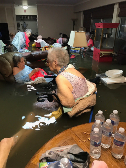 hurricane harvey elderly