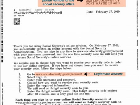 Beware This Social Security Scam