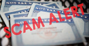 Beware Fake Calls From Social Security