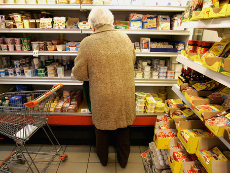 More Seniors are Relying on Food Stamps