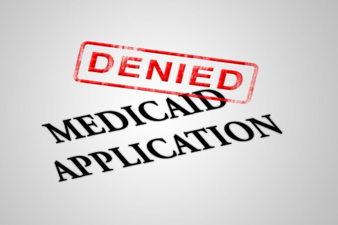 denied medicaid application
