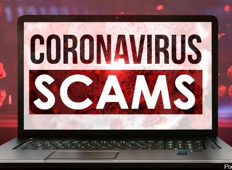 Beware Coronavirus Related Scams
