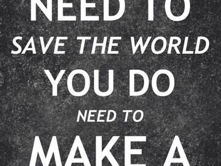 Det er Enda Tid til å Skape en Forandring! / There is Still Time To Make a Change!